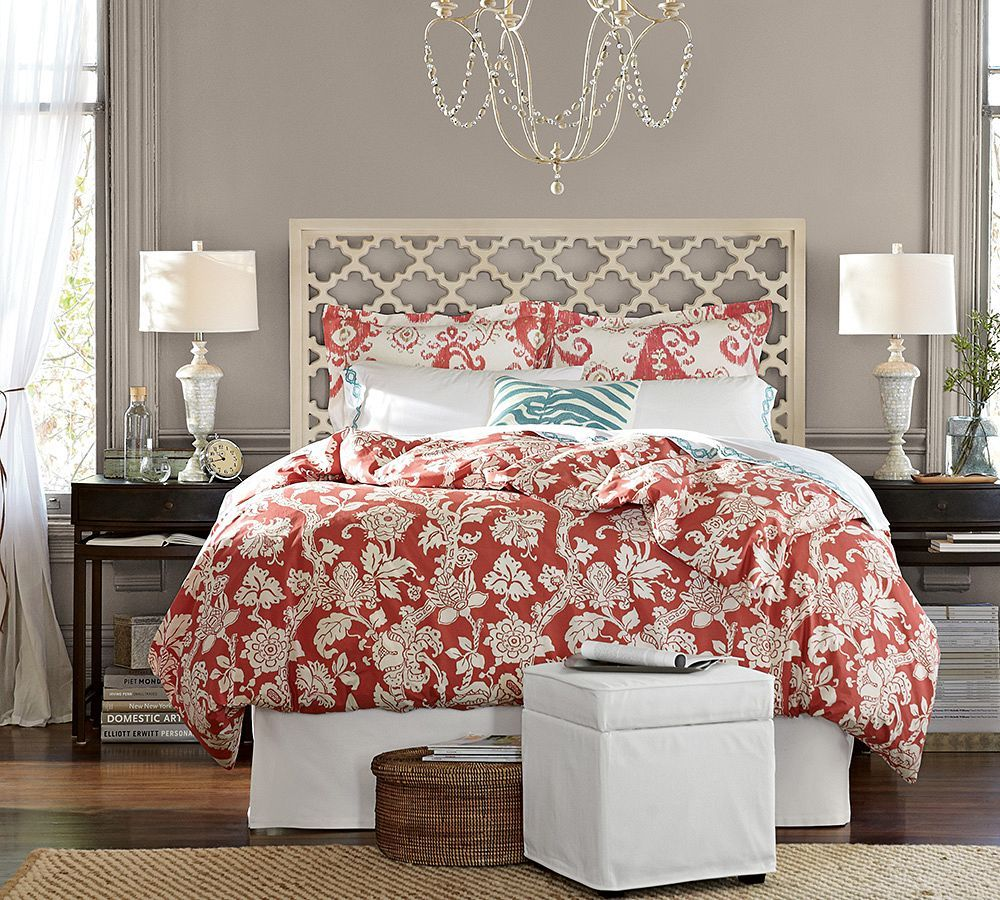 Bed room Pattern play with prints and