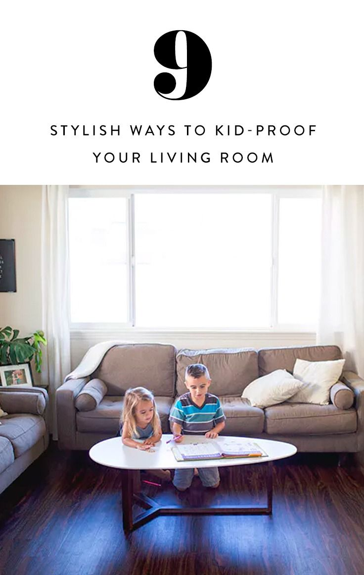9 ways to stylishly kid proof your living room living rooms and room rh pinterest com