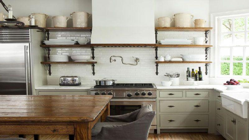 Cuisine vintage une déco tendance rétro Kitchen staging, Cuisine