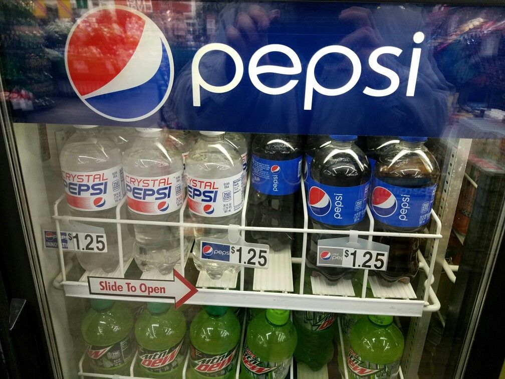 the christmas tree shop in deptford new jersey still carries plenty of crystal pepsi - Christmas Tree Shop Deptford Nj