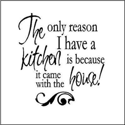 Funny Kitchen Wall Quote Home Pinterest Kitchen Quotes Wall