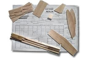 West Wings Merlin Glider Balsa Kit Available From Hobbies The Uk S Favourite Online Hobby Store Model