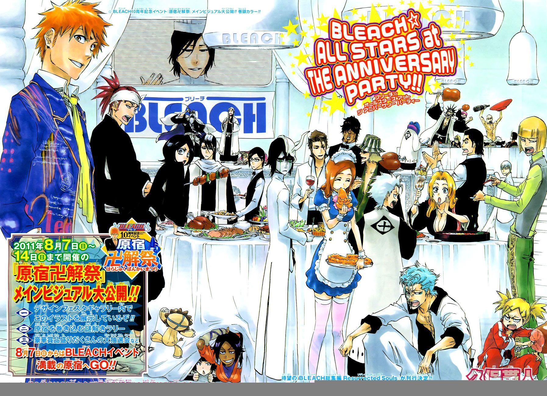 Bleach Bleach Anime Bleach Characters Bleach Color [ 1300 x 1795 Pixel ]
