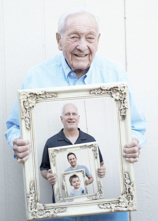 How To Make Generational Family Photos | Craft Ideas | Pinterest ...