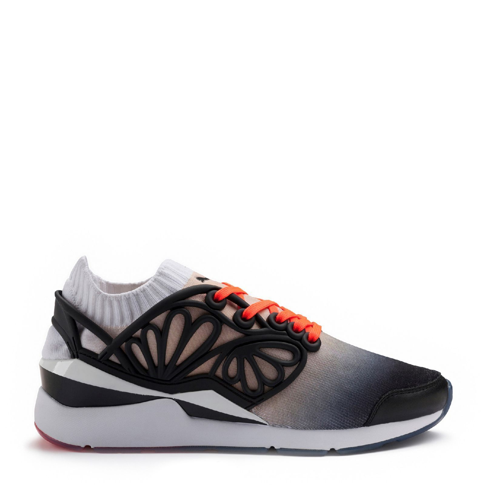 girls nike shoes gray with pink trim translate 865146