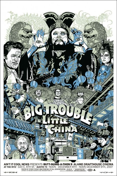 big trouble in little china variant � mondo poster