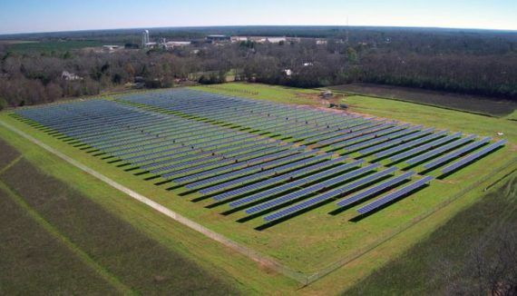 Jimmy Carter Builds 1 3 Megawatt Solar Farm For His Hometown Of Plains Georgia Solar Farm Solar Energy Diy Solar