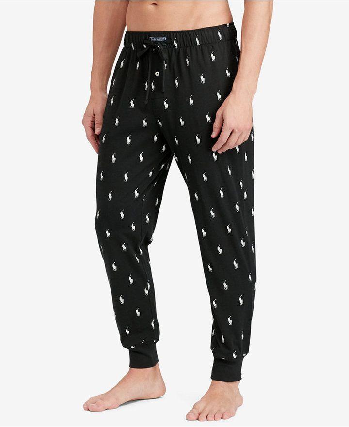 Polo Ralph Lauren Men Lightweight Cotton Logo Pajama Pants