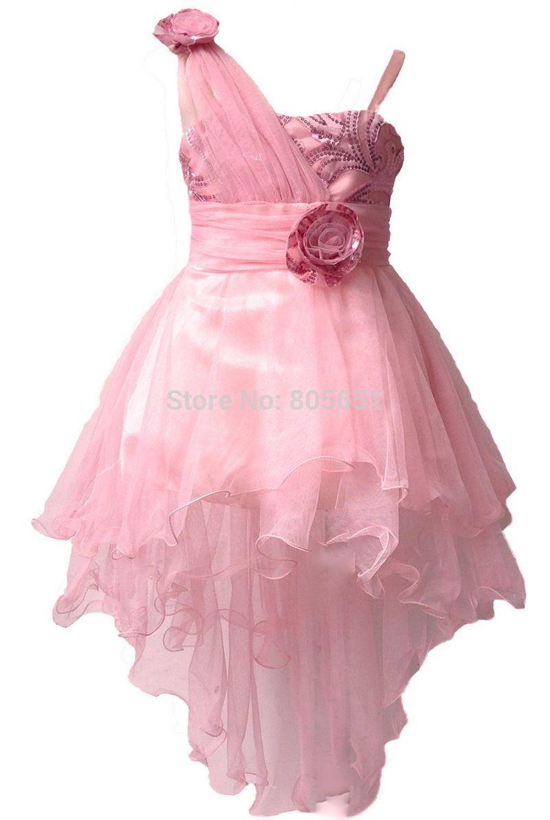 Nuevo vestido de noche para las niñas vestidos del desfile para ...