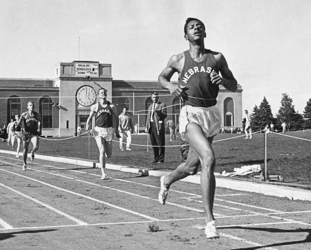 From the Archives Husker track team 'walloped' Houston in
