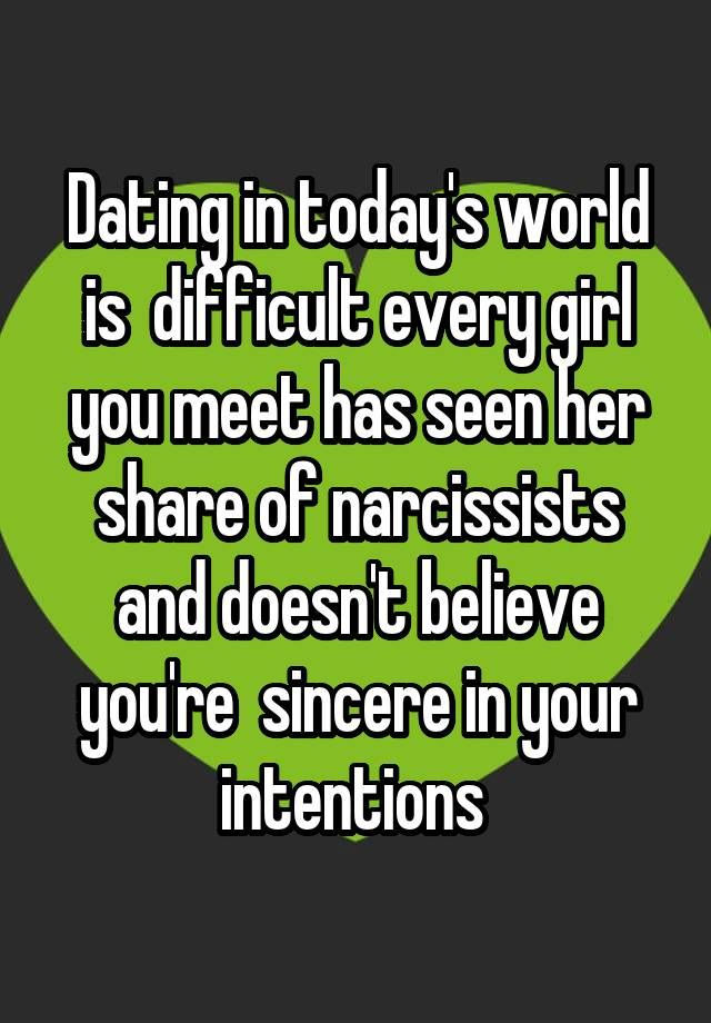 dating intentions