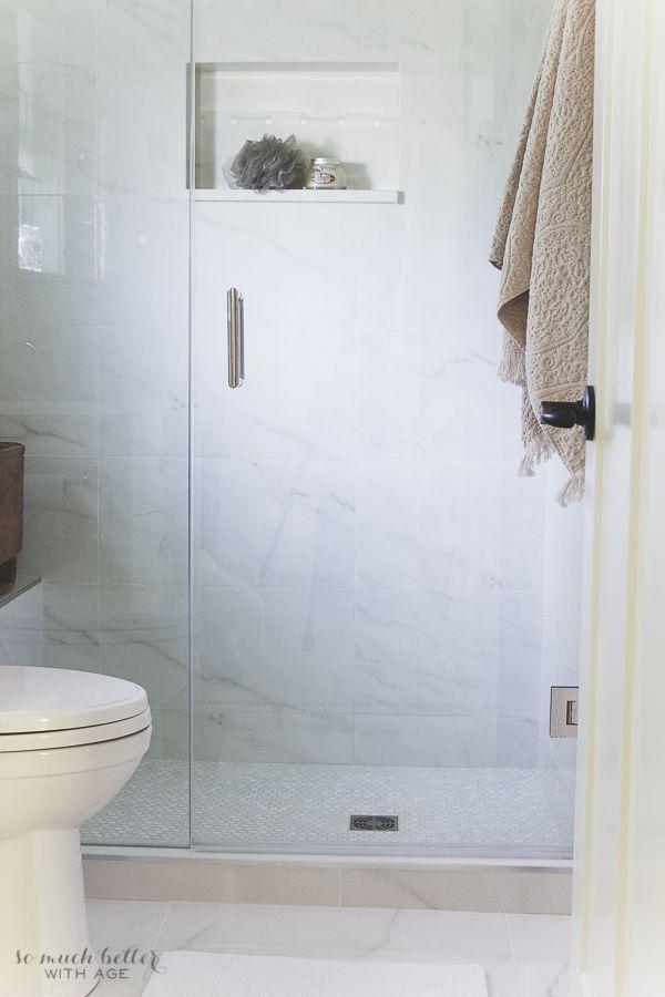 39++ Faux marble tile bathroom ideas