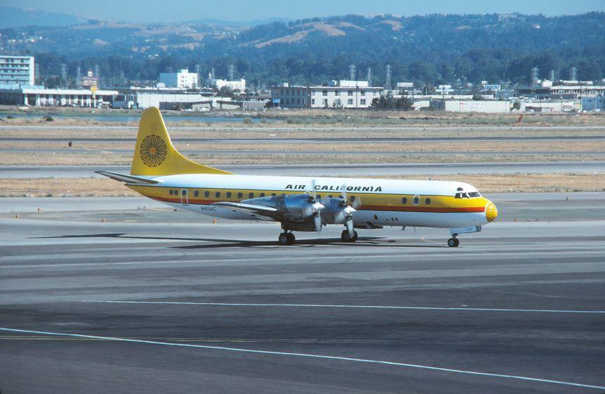 San Francisco Lockheed electra, Aviation history