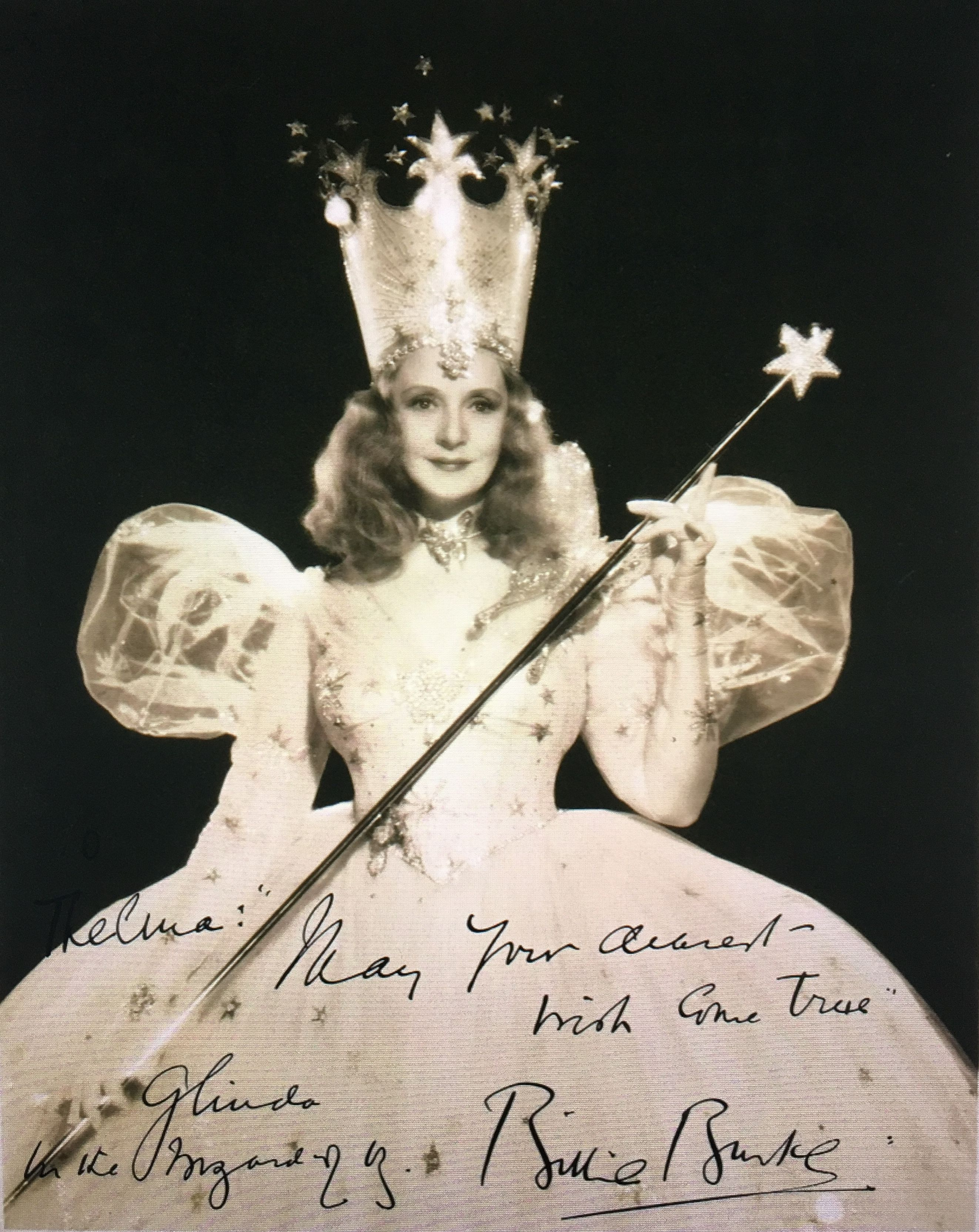Billie Burke Glinda the good witch, The good witch