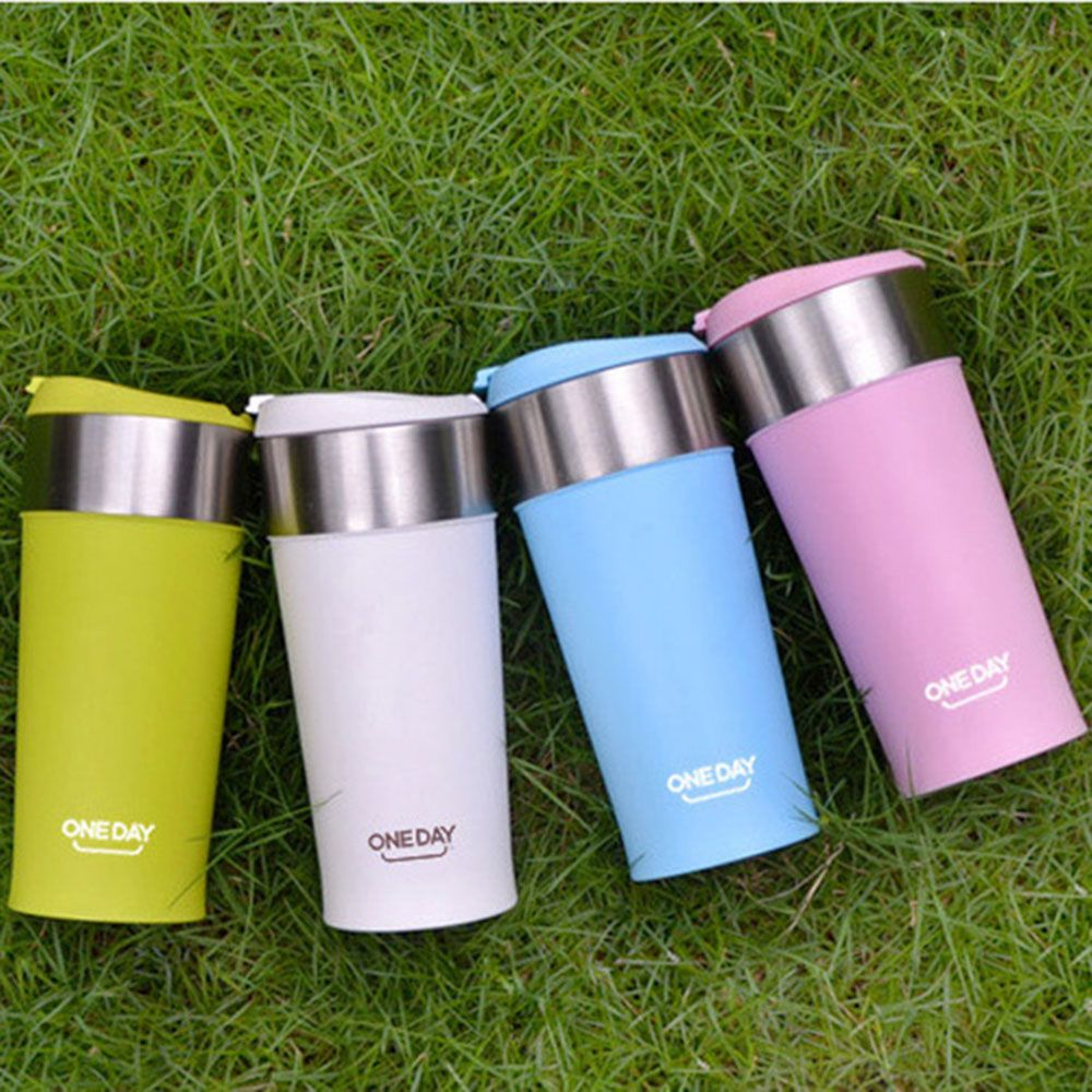 Coffee Thermo Mug With Cups 400ml Heating Insulated Mugs Auto Car Healthy Double Wall Stainless