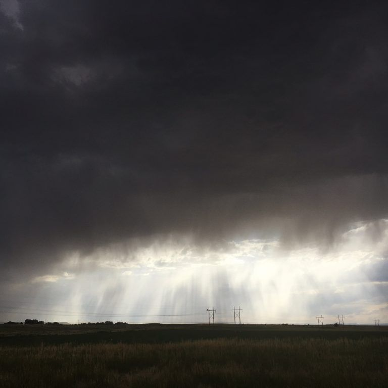 South Dakota storm from our cross country adventures