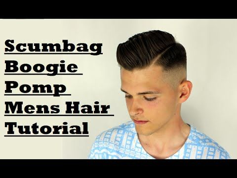 Exceptional Scumbag Boogie Side Parted Pompadour Mens How To Hair Tutorial Kieron The    YouTube