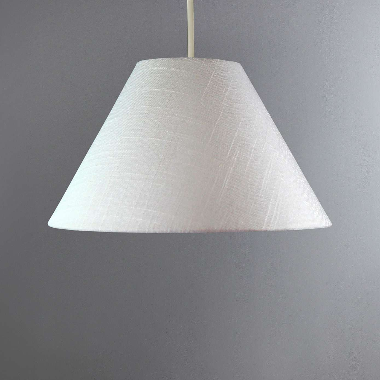 Linen Tapered Cream Shade Light shades, Dunelm, Ceiling