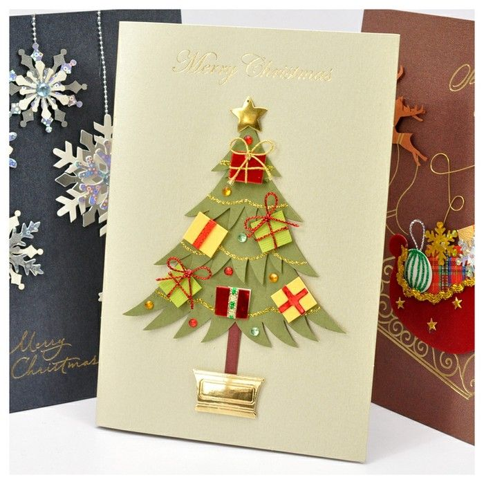 Christmas greeting card | Christmas ideas | Pinterest | Christmas ...