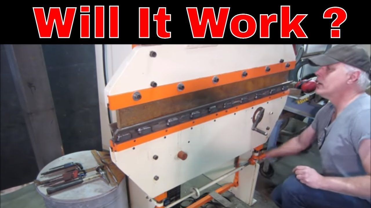 Building press brake dies out of angle iron in 2020