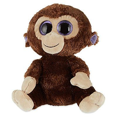320985c2589 Other Ty Beanbag Plush 1037  Ty Beanie Boos - Coconut The Monkey (Large Size