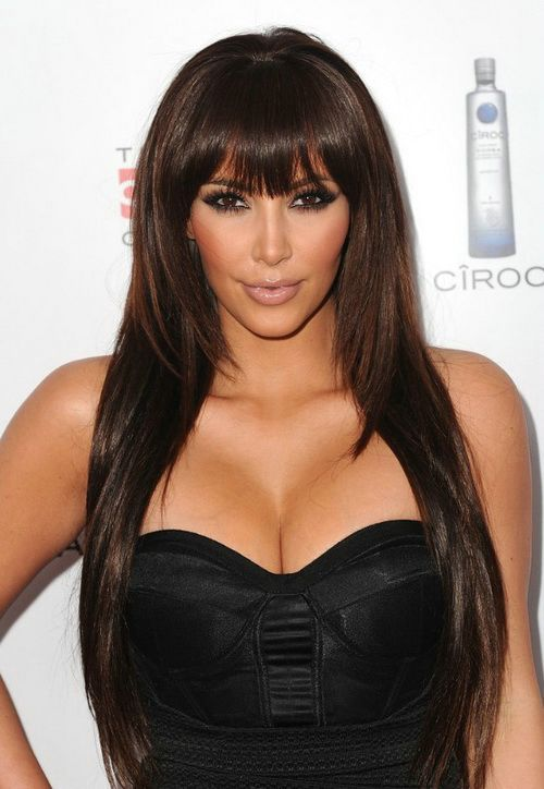 Awesome 1000 Images About Long Bangs Hairstyles On Pinterest Short Hairstyles Gunalazisus