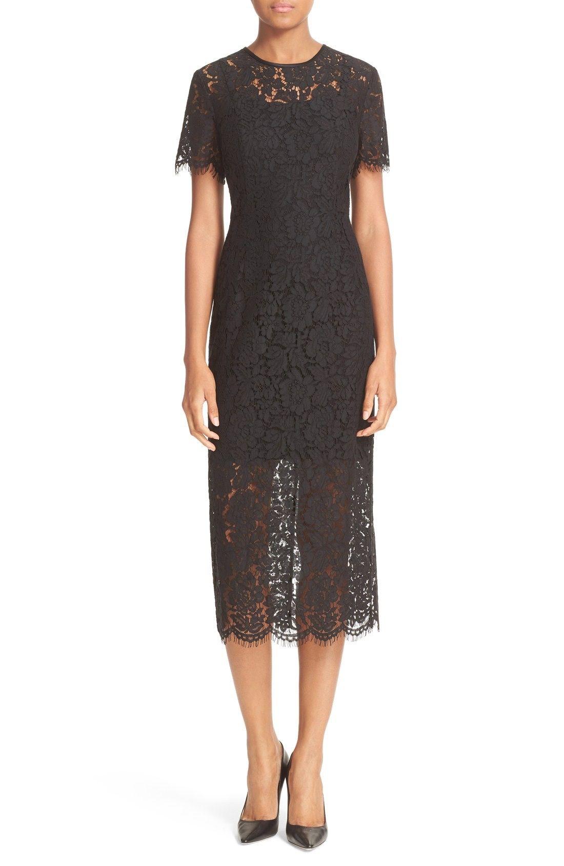 Dress for Women, Evening Cocktail Party On Sale, Black, polyamide, 2017, 8 Diane Von Fürstenberg
