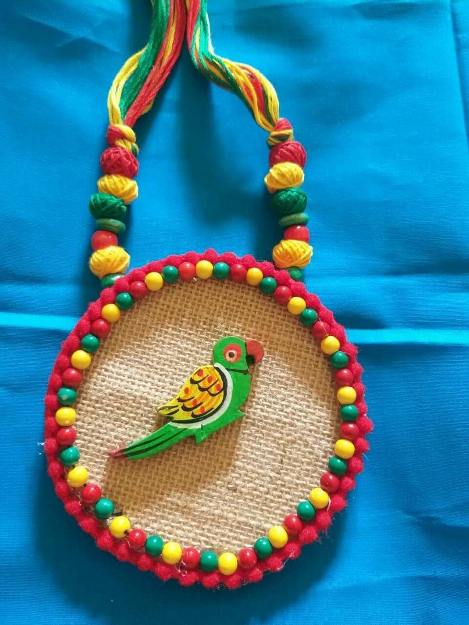 handmade febric jewelry
