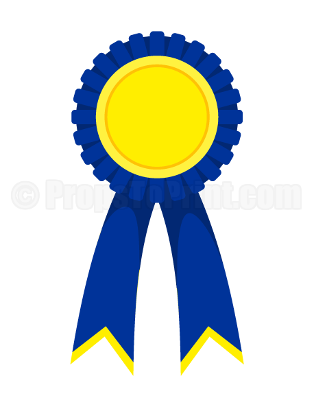 printable award ribbon photo booth prop  create diy props