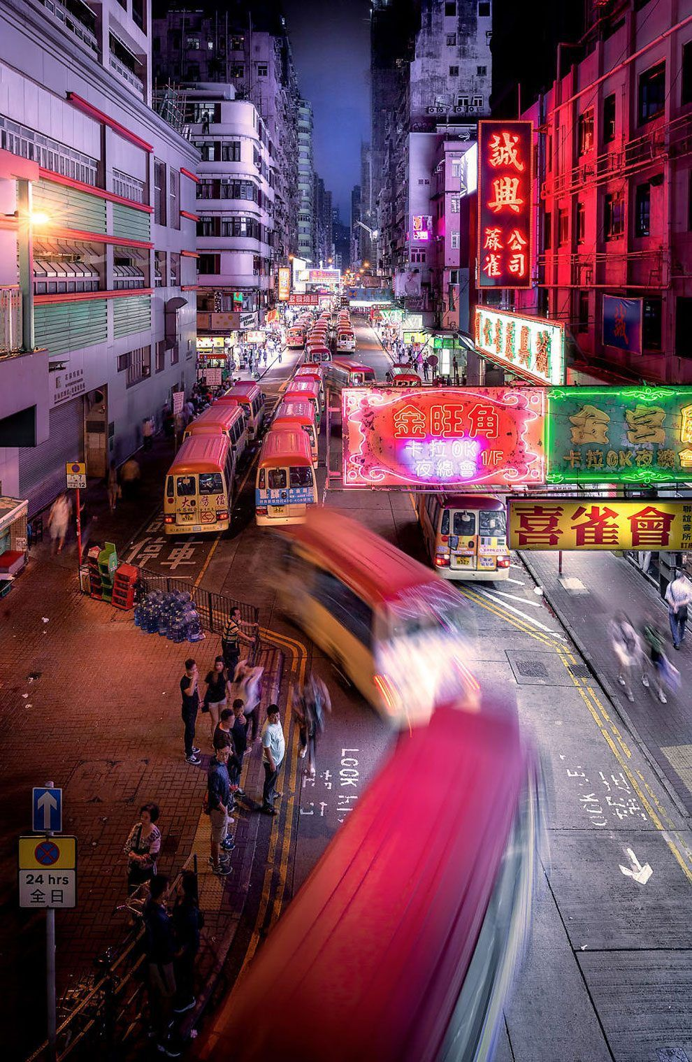 According To Photographer Andy Yeung I Drew Inspiration From The Anime Ghost In The Shell 1995 In Which Hong Kon Hong Kong Night Hong Kong Urban Landscape