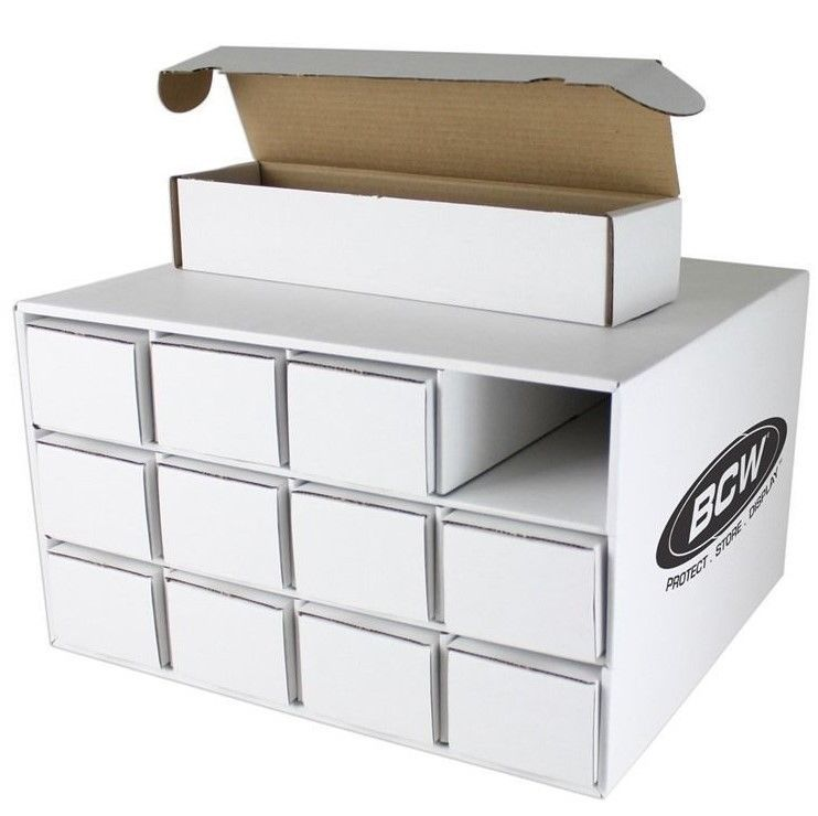 Details About 1 Stackable Cardboard Sports Card House With