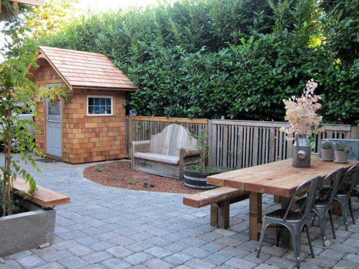 Our Previous Patio Introducing The Wallingford House Patio Backyard Cottage Patio Projects