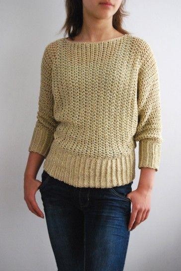 Haakpatroon Sparkle Trui Haken Kleding Pinterest Crochet