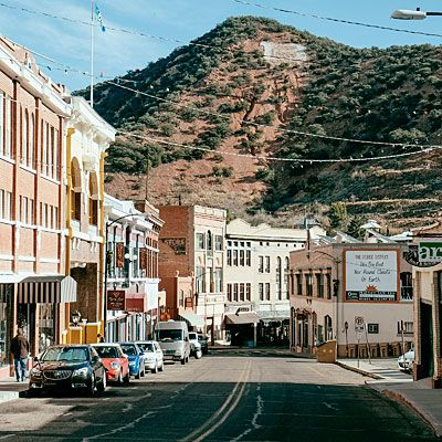 Best Small Town Bisbee Az Towns To Live In Sunset