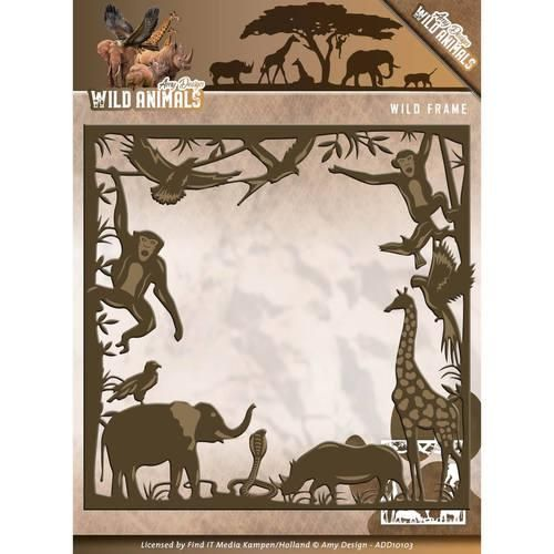 Amy Design Cutting S Wild Animals Frame A Great Selection Of From Emerald Crafts New Forest Craft