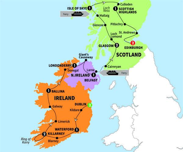 Best Way To Travel Ireland And Scotland