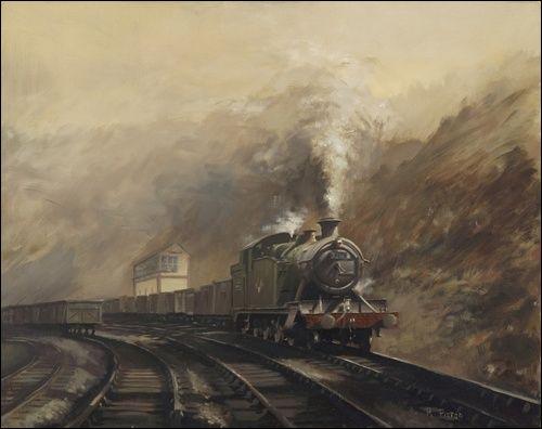 South Wales Coal Train by Richard Picton