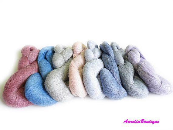 800 grams Linen yarn, linen natural thread, linen flex, weaving yarn