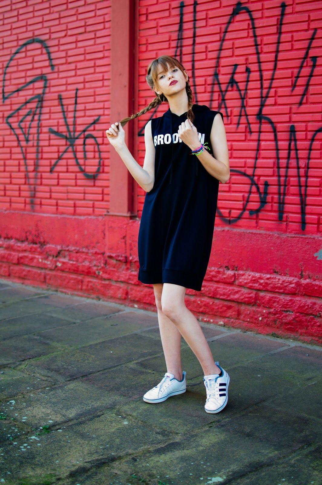 Street Syle Twins moda fashion, tendencia, filha fashion, look lookbook,editorial, fun,tranças boxer, Boxer Braids,adidas