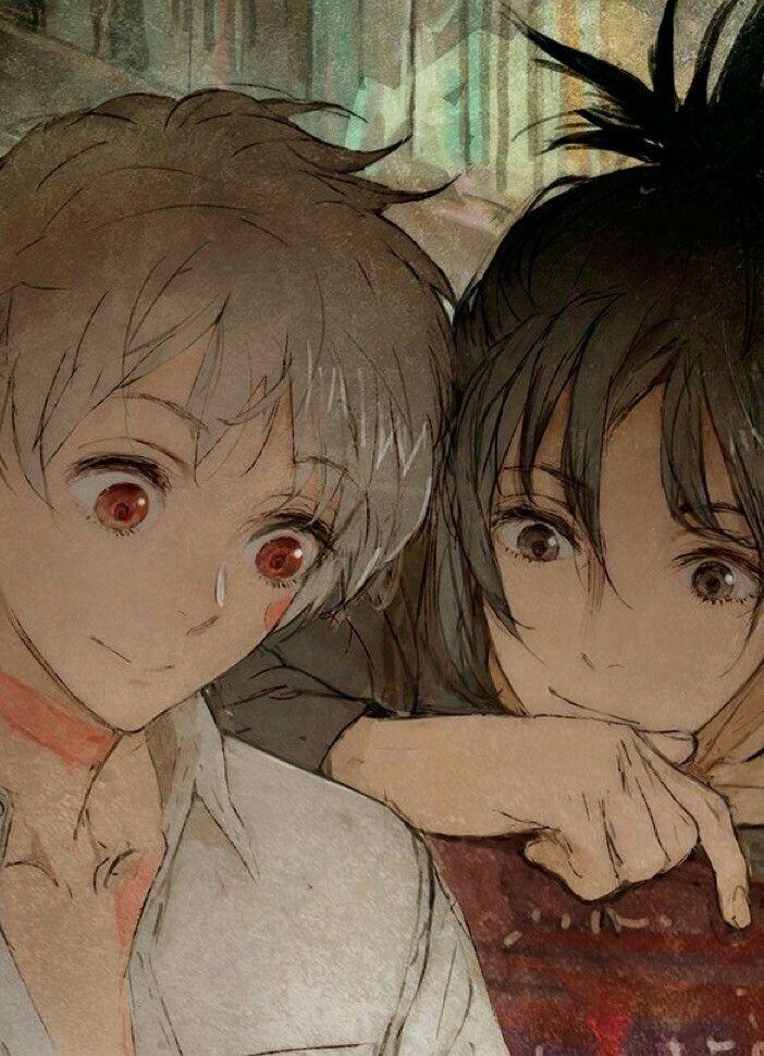 Nezumi x Shion Nezushi No 6 Anime, Manga anime, Animação