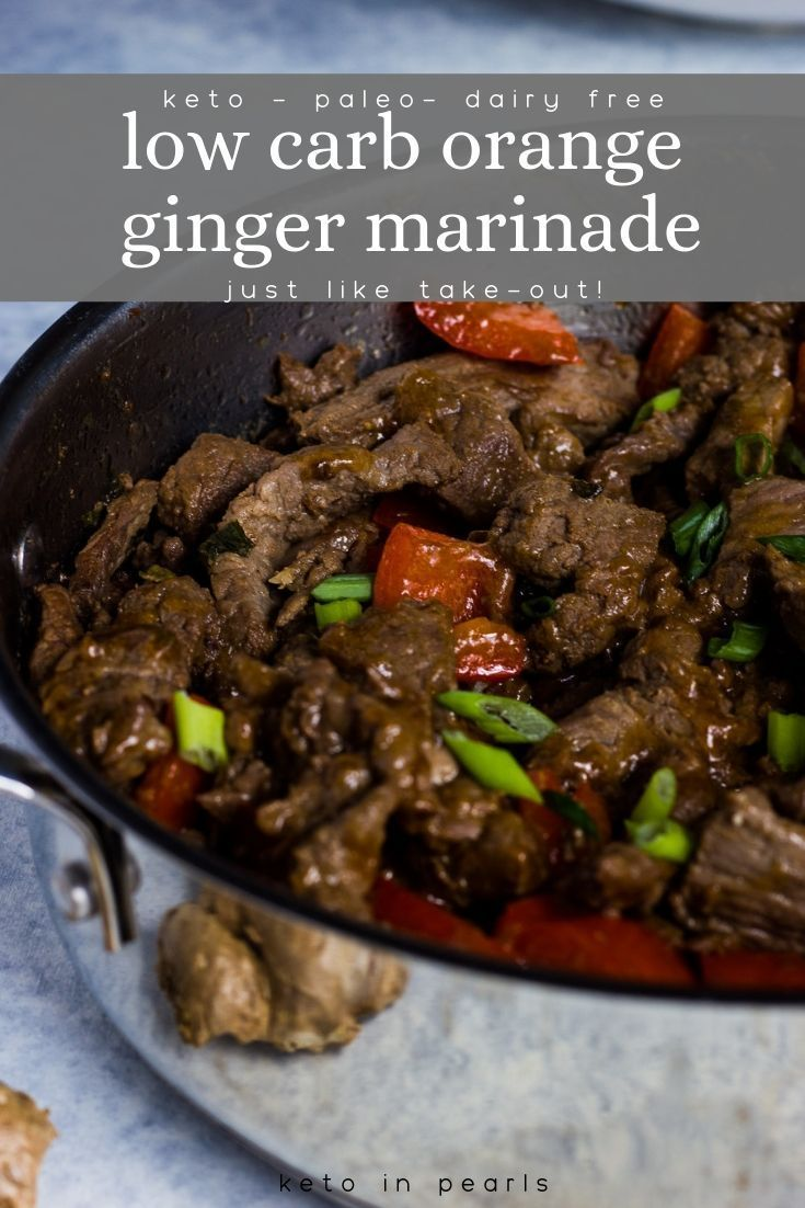 Sugar free and gluten free marinade for beef, chicken, or pork. #marinadeforbeef