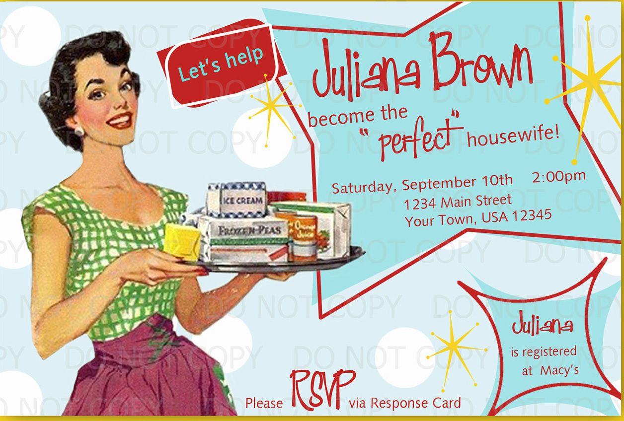Iw 50s housewife bridal shower ideas 50s housewife bridal iw 50s housewife bridal shower ideas filmwisefo Gallery