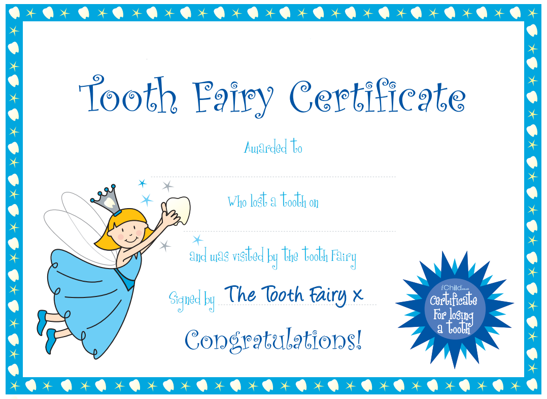 photo relating to Printable Tooth Fairy Certificate identified as printable Enamel Fairy Printables Crafts Teeth fairy