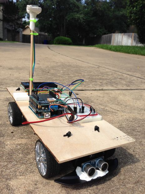 """""""Arduino Vehicle"""" from Make it @ Your Library"""
