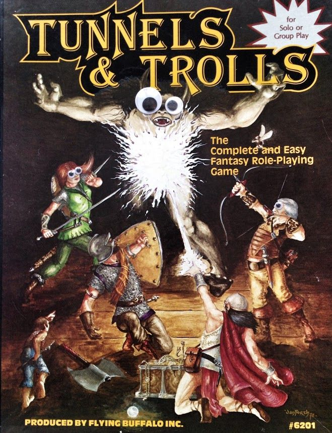 Tunnels & Googly Eyes, Fifth Edition Rpg, Roleplaying