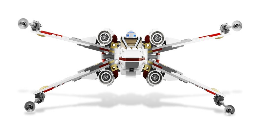LEGO Star Wars 9493: X-Wing Starfighter: Amazon.co.uk: Toys & Games ...