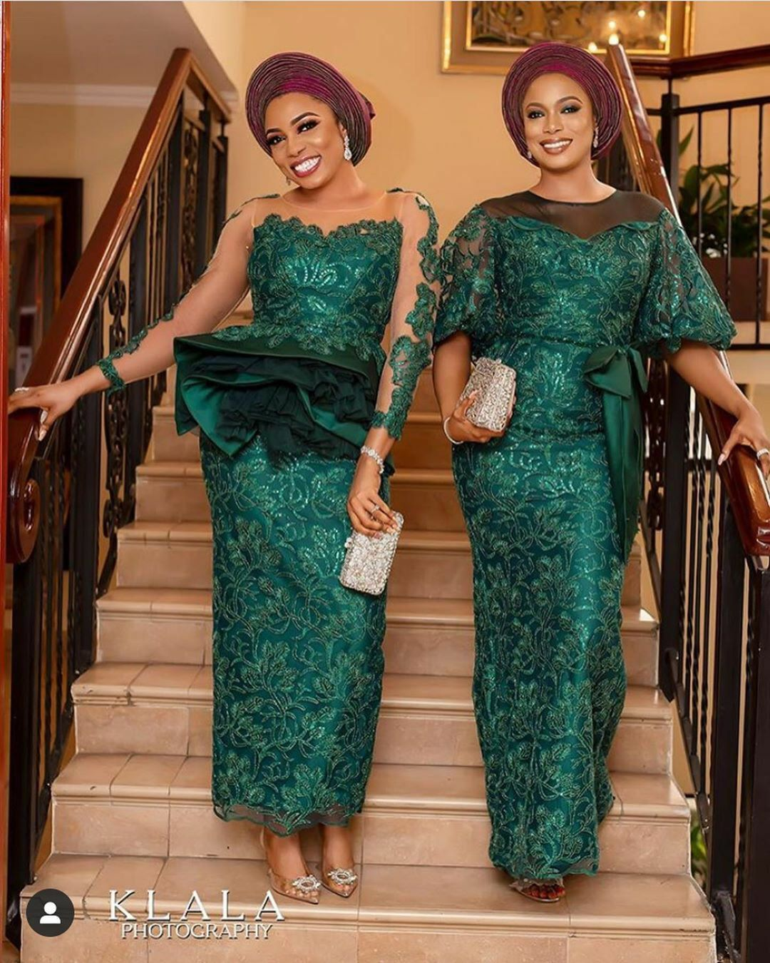 2019 Wedding Color Emerald Green In 2020 Lace Gown Styles Nigerian Lace Styles Dress Nigerian Lace Styles