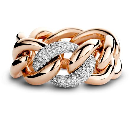 Explore Anel De Diamante Ouro Rosa e muito mais! 18ct white   rose gold  pave set diamond ring. Diamond weight 0.53ct From £ 76695ac41c