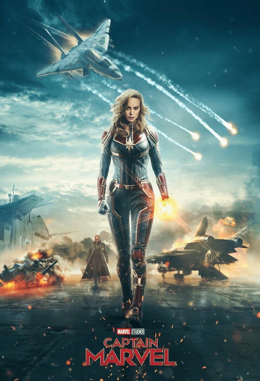 New Hindi Movei 2018 2019 Bolliwood: 1 Captain Marvel Movie Poster 2019 New, Avengers Print