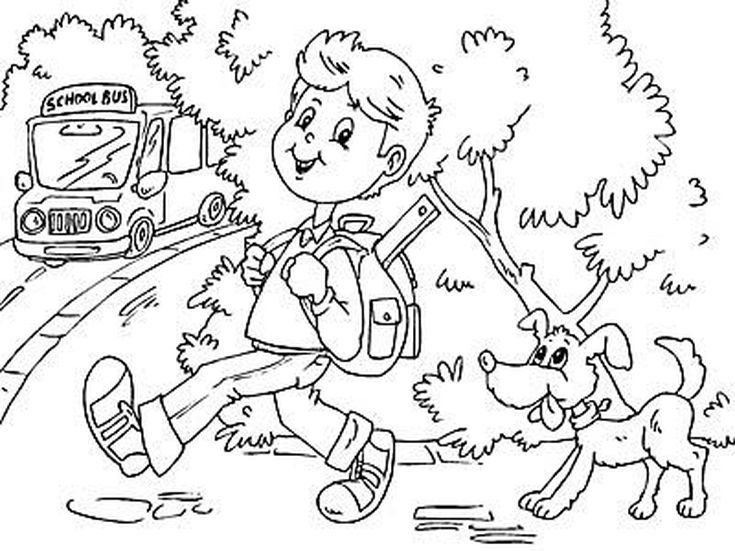 14 Places to Find Free Back to School Coloring Pages | School